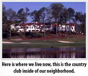 the country club in our neighborhood